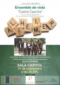 """Concierto Ensemble de Violas """"Castra Caecilia"""""""