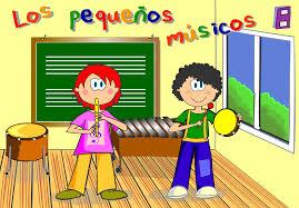 pequeños músicos