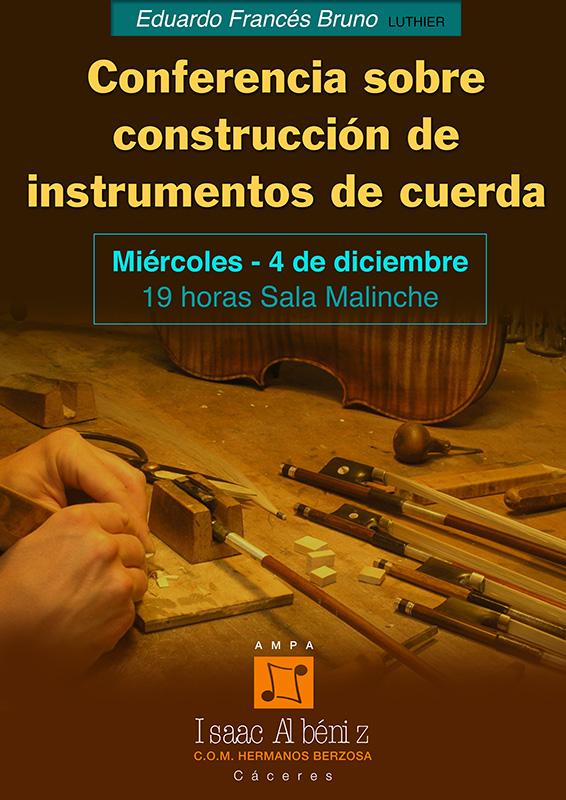 Conferencia Luthier