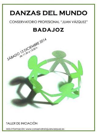 DANZAS DEL MUNDO cartel 2014 DIC