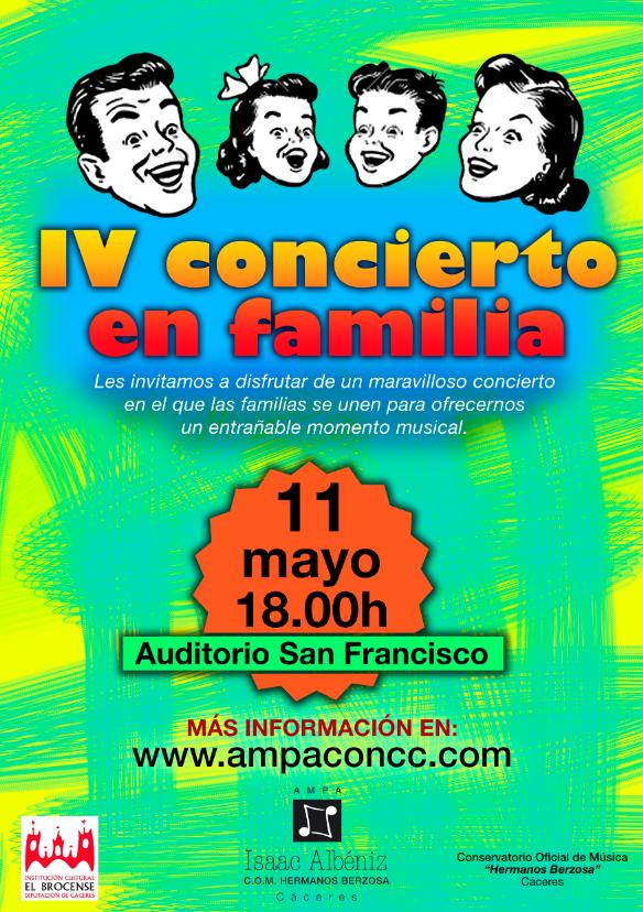 concierto en Familia 2015-